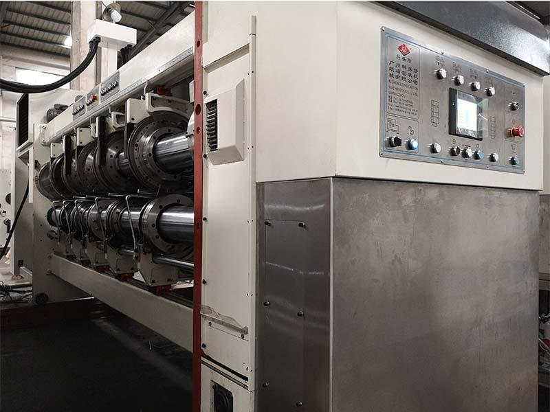 China Corrugated Cardboard Box Printing Machine Plant