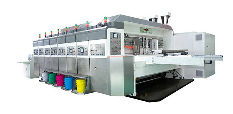 auto printing slotting die cutting machine