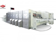 Corrugated Carton Box Flexo Printing Machine