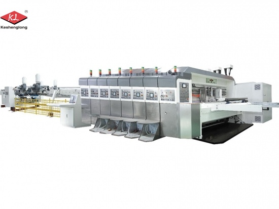 Digital corrugated carton printing machine without plate