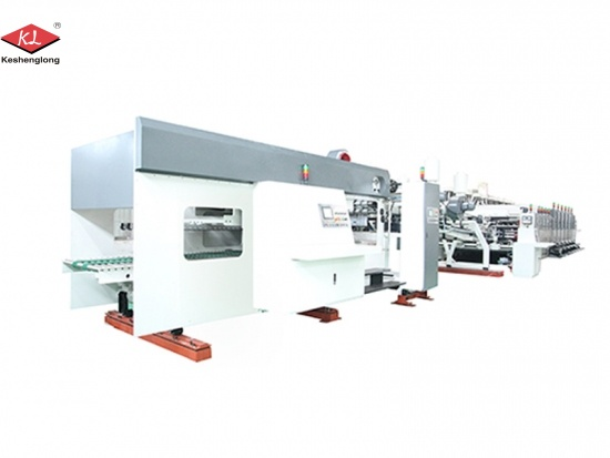 Automatic Flexo Printing Corrugated Carton Machine