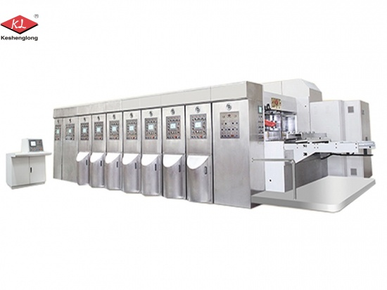 Corrugated Carton Box Flexo Printing Machine for Sale