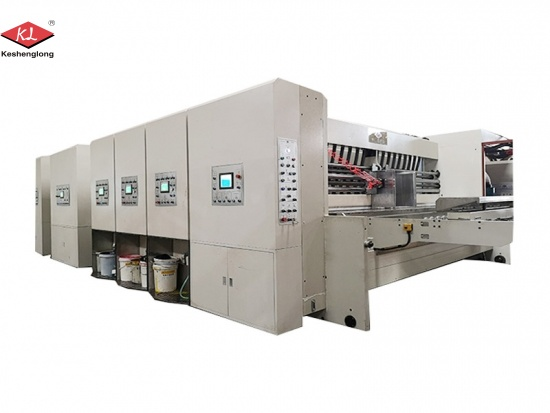 Flexo Printing Machine to Make Cardboard Boxes