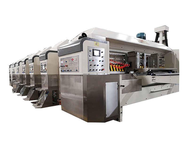 High Speed 2 Colors Corrugated Cardboard Printing Machine