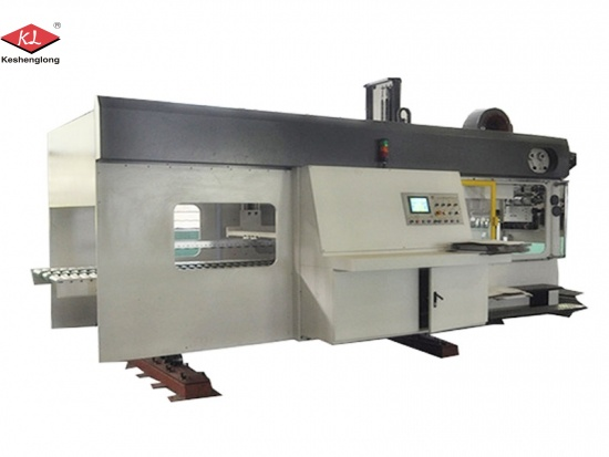 Corrugated Box Rotary Die Cutter Printing Machine
