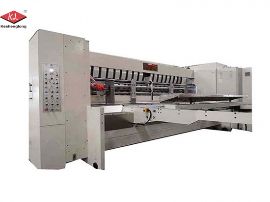 High Defination Flexo Printer Slotter Die Cutter Machine