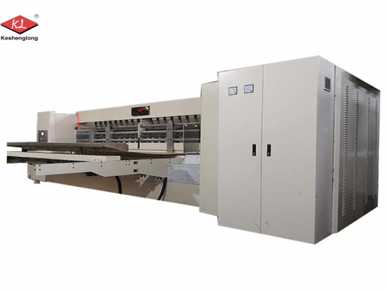 4 Colors Flexo Printer Slotter Die Cutter Machine