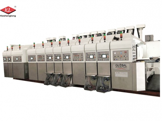 Flexo Printer Slotter Die-cutter Machine Suppliers
