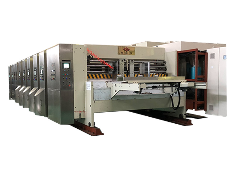 Corrugated Box Flexo Printing Machine with CE