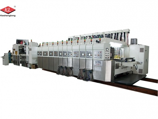 Flexo Printing Slotting Die Cutting Machine