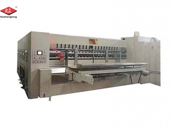 Automatic Carton Printer Slotter Machine