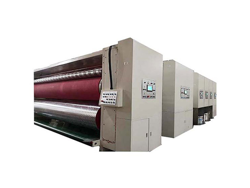 Carton Printer Slotter and Die Cutter Machine