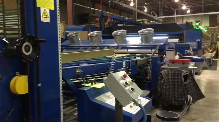 Top & Bottom Printing Slotting Rotary Die-Cutting Machine, Size:1600x3600